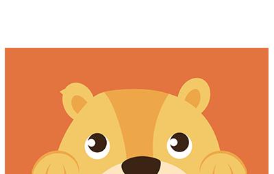0078-002-2018 illustratie leeuwtje op de rand